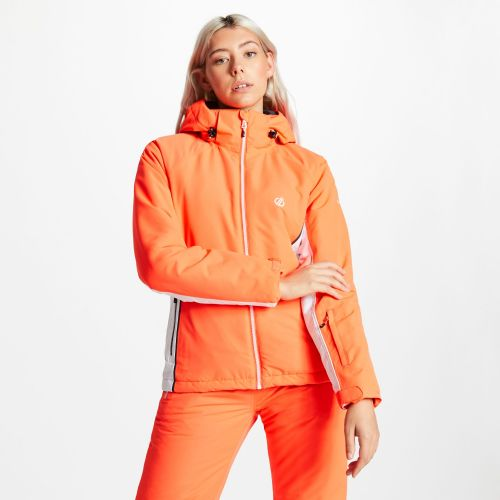 Women's Thrive Ski Jacket - Fiery Coral